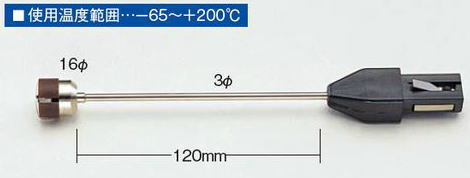 TASCO(タスコ)デジタル温度計 TA410-110用表面センサー 高温タイプ TA410-11
