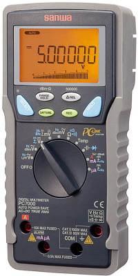 サンワ(SANWA)真の実効値対応デジタルマルチメーター パソコン接続型 PC7000