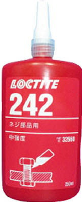 LOCTITE(ロックタイト) ねじ部品用嫌気性接着剤 中強度・中粘度 250ml