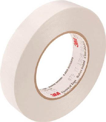 3M(スリーエム) ガラスクロス電気絶縁テープNo.79 25mm幅×54.8m長×0.18mm厚 白色