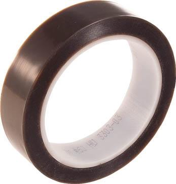 3M(スリーエム) PTFE電気絶縁テープNo.60 25mm幅×32.9m長×0.10mm厚 淡茶色