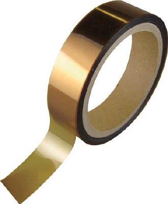 チューコーフロー 耐熱両面テープ 50mm幅×10m長×0.085mm厚 オレンジ色