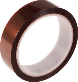 3M(スリーエム) ポリイミド電気絶縁テープNo.92 25mm幅×32.9m長×0.08mm厚 オレンジ色