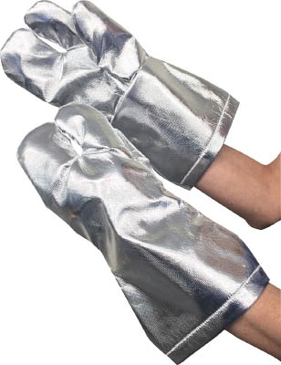 TRUSCO(トラスコ)遮熱保護具3本指手袋 フリー