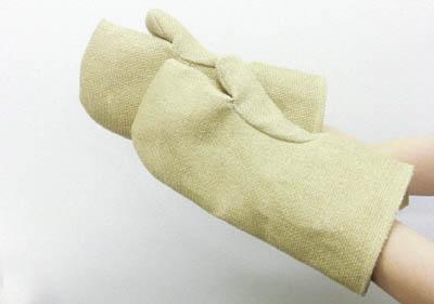 ZETEX ゼテックスプラスダブルパームミットン耐熱手袋 35cm