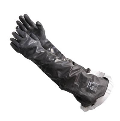アンセル(Ansell) 耐熱・耐薬品手袋 スコーピオロング LLサイズ