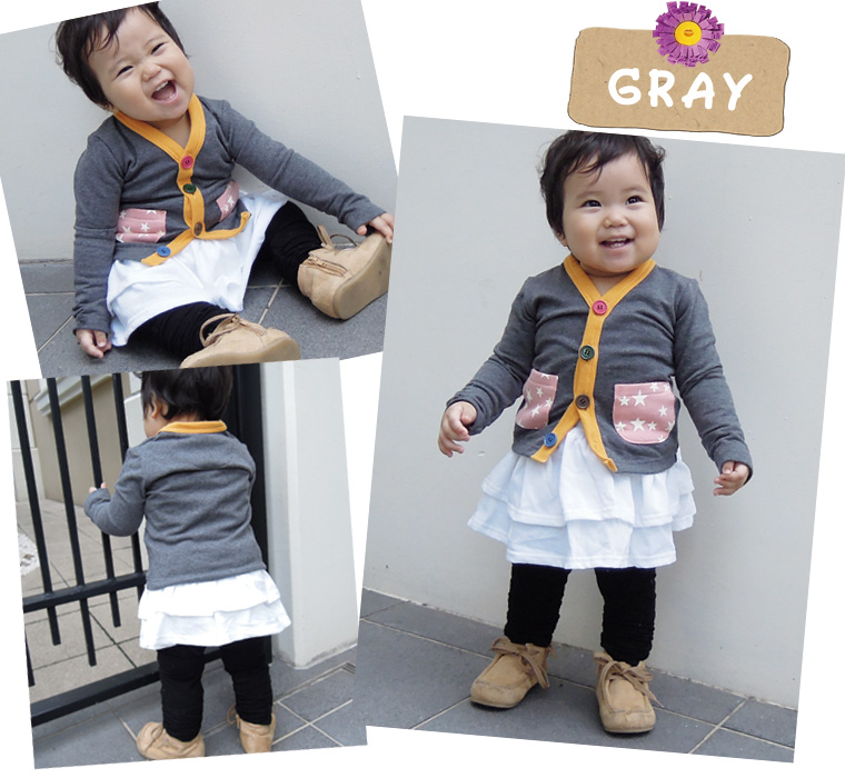 """Skinny colorful Cardigan show clear """"Fisher, now available! ★ ★ (80 cm 90 cm 95 cm 100 cm) fs3gm"""