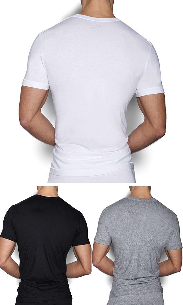 c75c4c8d3 Easy Monkey: Mens V Neck T shirt CORE BASIC V-NECK T-SHIRT CIN2 sea ...