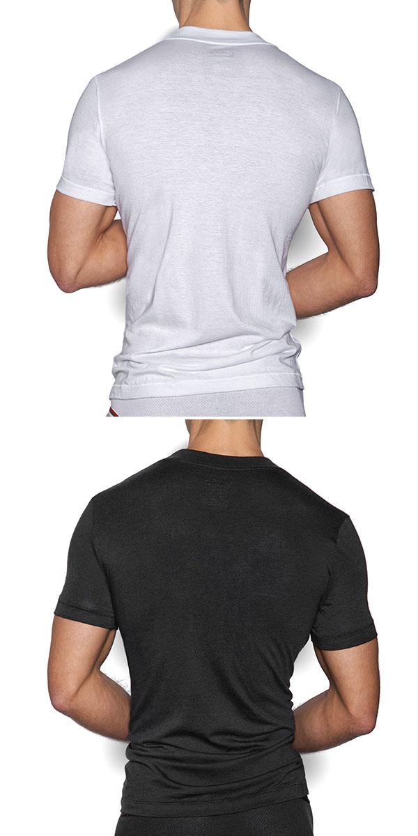 e0796703a Easy Monkey: C-IN2 V neck T-shirt ZEN sea in two CIN2 men man ...