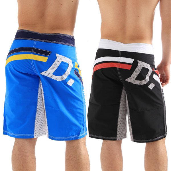 Men's swim DECK LONG BOARD BOXER long surf shorts «side DIESEL graphics» (male swimsuit swimwear) * non-full refund *