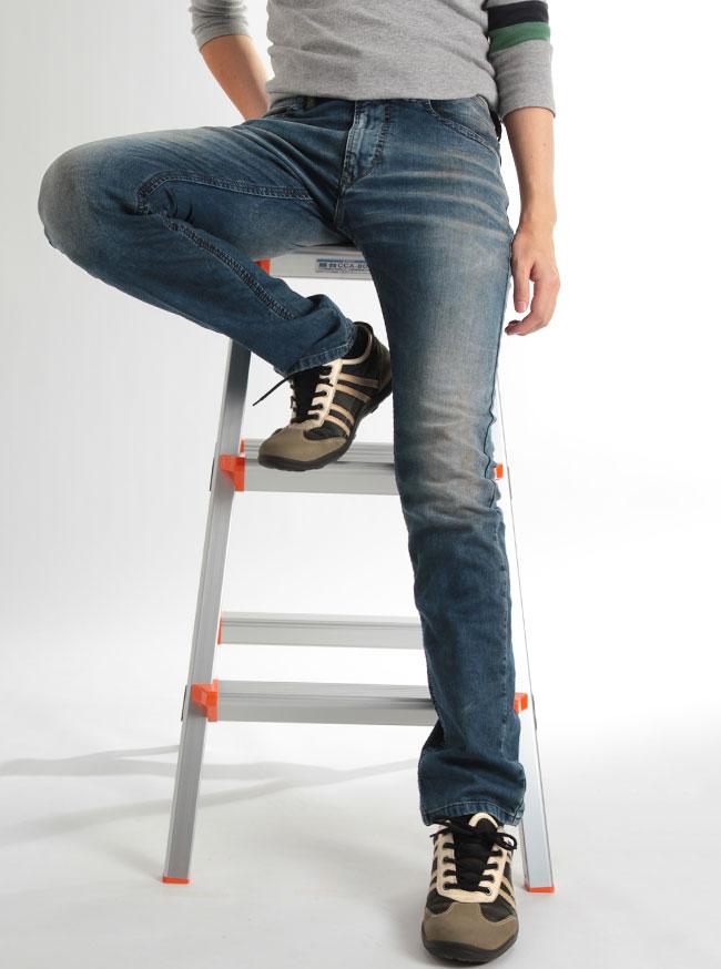 JOGG JEANS摇动牛仔裤运动衫粗斜纹布THAVAR-NE金鸡纳霜≪0603L≫人粗斜纹布运动衫裤子礼物生日礼物