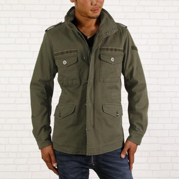 柴油柴油軍用夾克外套 J 美羽軍事綠色男裝男人