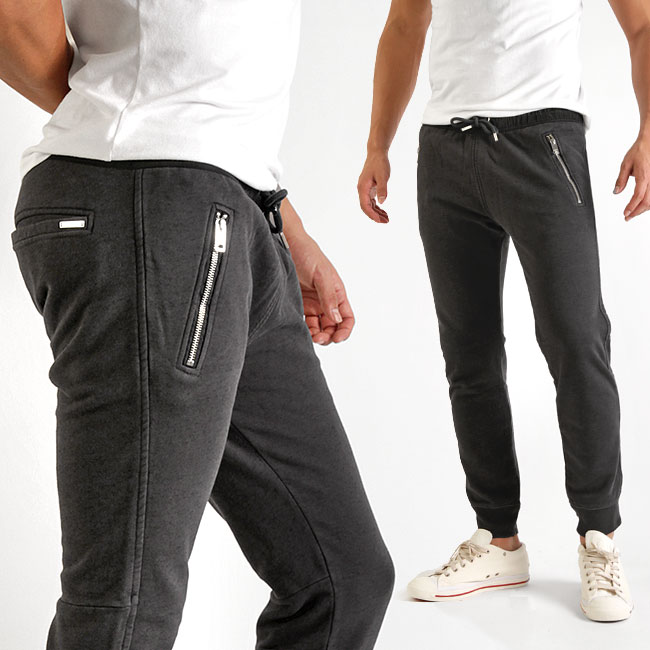 Diesel DIESEL sweatpants P HERK ZIP zip pockets Cotton Jersey men men