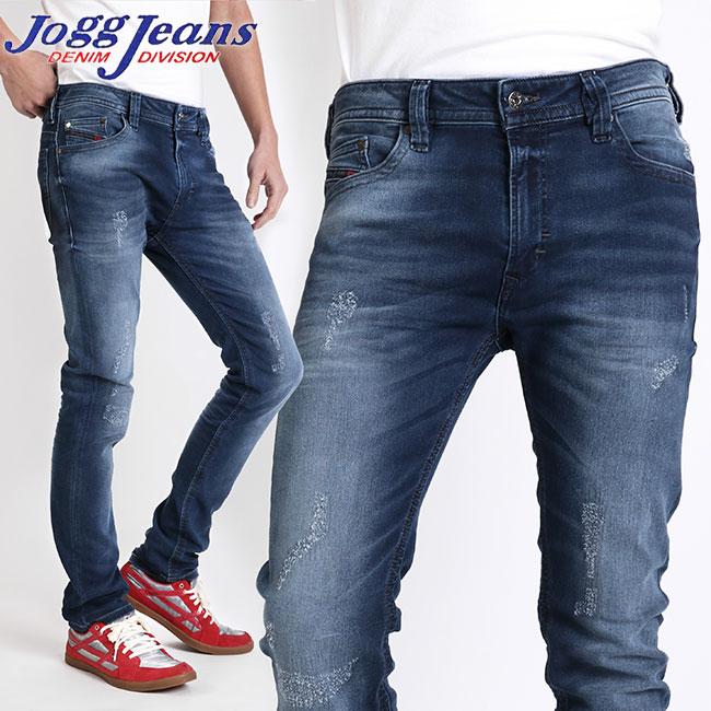 best sneakers 52bd2 80448 Diesel jog jeans DIESEL JOGG JEANS sweat shirt denim jog jeans JOGGJEANS  THAVAR-NE 0685G indigo wash destroy repair Kinney sweat shirt underwear jog  ...