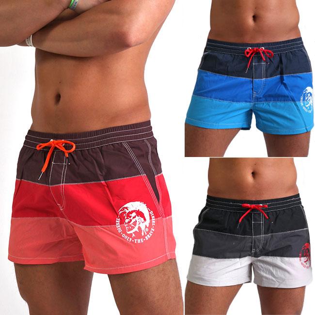 28065c4ea9 Swimsuit beachwear sea bread swimwear returned goods for men is impossible  in DIESEL diesel men swimsuit