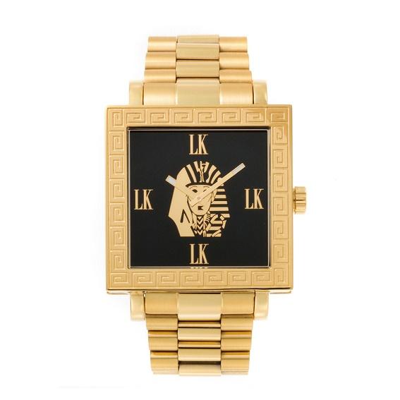 腕時計 スワロフスキー キュービックジルコニア FACEAWARD 爪止め LASTKINGS XXD002 LK/MET