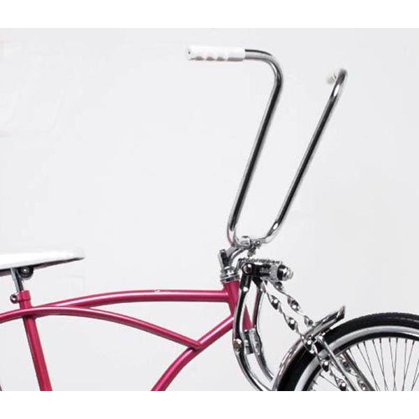 BICYCLE CLASSIC SCHWINN STYLE HANDLEBAR 22.2MM or 25.4MM CHROME CRUISER BIKES