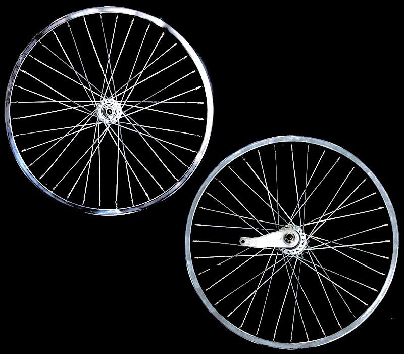 送料無料 36スポーク 20インチ ホイール 前後セット クローム 自転車部品 ローライダー 自転車 パーツ ローチャリ ビーチクルーザー アクセサリー カスタム 部品 改造 BMX MTB GRQ サイクルパーツ Schwinn シュウィン スティングレー エレクトラ レインボー コンプトン