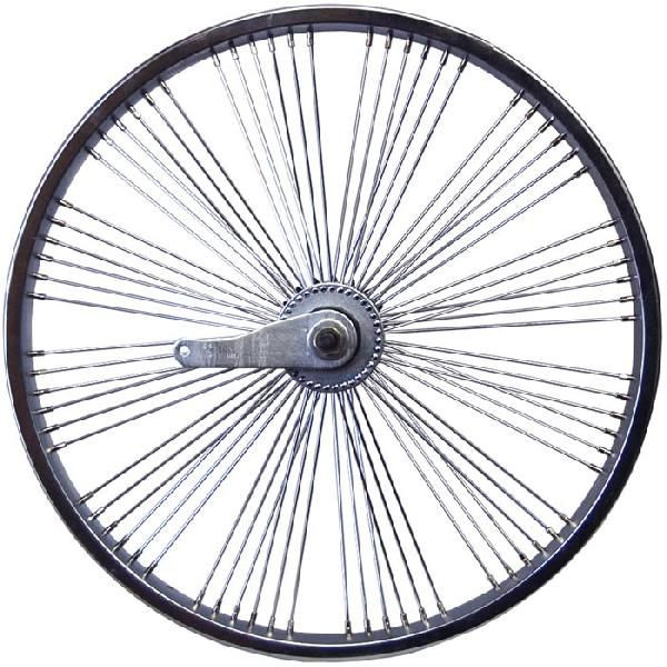 送料無料 72スポーク デイトン ファン ホイール リア コースターブレーキ付き クローム 20インチ 自転車部品 ローライダー 自転車 パーツ カスタム 部品 改造 BMX MTB GRQ サイクルパーツ Schwinn シュウィン スティングレー エレクトラ レインボー コンプトン