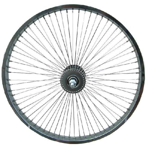 送料無料 72スポーク デイトン フロントホイール クローム 20インチ 自転車部品 ローライダー 自転車 パーツ ビーチクルーザー アクセサリー カスタム 部品 改造 BMX MTB GRQ サイクルパーツ Schwinn シュウィン スティングレー スタイル エレクトラ レインボー コンプトン