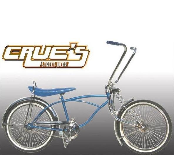送料無料 クルーズ ローライダー自転車 ブルー ローチャリ ビーチクルーザー Lowrider Bicycle 20インチ 自転車 改造 世田谷ベース Schwinn シュウィン スティングレー エレクトラ レインボー コンプトン カスタム アメリカン チョッパー BMX MTB GRQ 小径自転車 ミニベロ