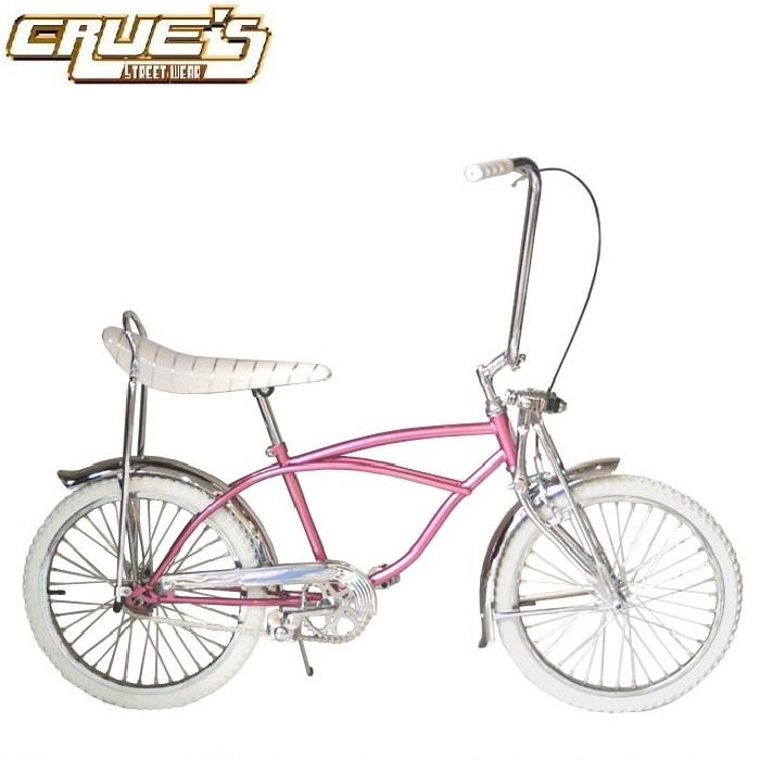 送料無料 クルーズ ローライダー自転車 CHERRY BLOSSOM クラシック カスタム ローチャリ ビンテージ スタイル ビーチクルーザー 20インチ 自転車 改造 Schwinn シュウィン スティングレー エレクトラ レインボー カスタム アメリカン チョッパー BMX MTB GRQ ミニベロ