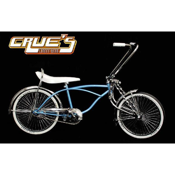 送料無料 クルーズ ローライダー自転車 ライトブルー ローチャリ ビーチクルーザー Lowrider 20インチ 自転車 改造 世田谷ベース Schwinn シュウィン スティングレー エレクトラ レインボー コンプトン カスタム アメリカン チョッパー BMX MTB GRQ 小径自転車 ミニベロ