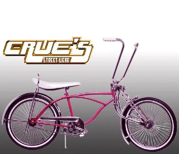 送料無料 クルーズ ローライダー自転車 ピンク ローチャリ ビーチクルーザー Lowrider Bicycle 20インチ 自転車 改造 世田谷ベース Schwinn シュウィン スティングレー エレクトラ レインボー コンプトン カスタム アメリカン チョッパー BMX MTB GRQ 小径自転車 ミニベロ