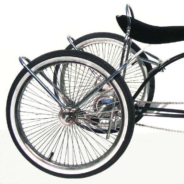 送料無料 3輪 トライクキット クローム メッキ 自転車部品 ローライダー 自転車 パーツ ローチャリ トライク ビーチクルーザー 部品 改造 BMX MTB GRQ サイクルパーツ クルーズ ローライダー自転車 Schwinn シュウィン スティングレー エレクトラ レインボー コンプトン