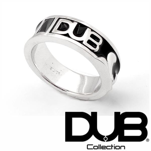 【再入荷なし】 送料無料 DUB リング メンズ レディース ジュエリー 215-1 (BK) シルバー アクセサリー ダブジュエリー RING ダブコレクション 指輪 ペアリング プレゼントにも