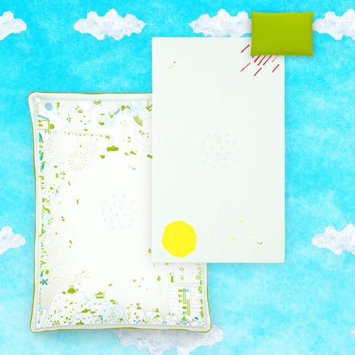 婴儿床上用品集婴儿布袋 (婴儿玩具) 在书上做日本颜色绿色和平经常 (婴儿书富富) 6 套的书通常情况下,6 件套
