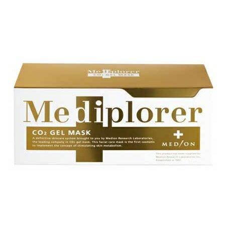 Mediplorer Co2 gel mask 炭酸 ジェル パック メディプローラー ジェルマスク スパチュラ付 カップ CO2 送料無料 6回分 正規品 在庫限り 初売り