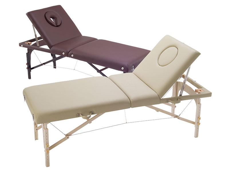 高級木製折りたたみリクライニングベッド【送料無料】2色あり