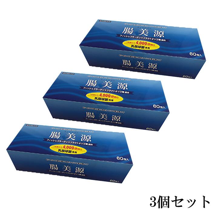 腸美源(60包) 3箱セット 【送料無料】