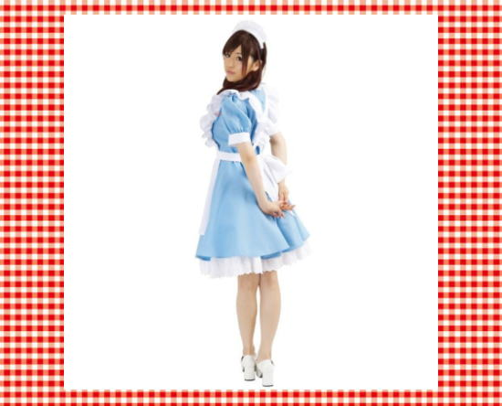 AKIBA of cosplay maid dress double Katyusha XL size