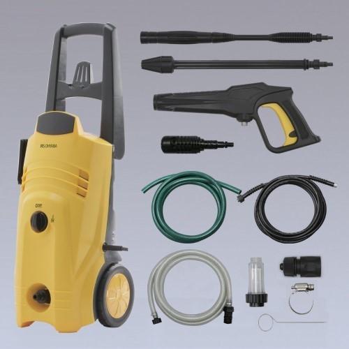 高圧洗浄機+吸水ホースセット 【単品販売】(イエロー) FIN-801W (60Hz専用)