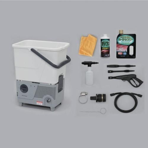 タンク式高圧洗浄機コーティングセット ホワイト/グレー
