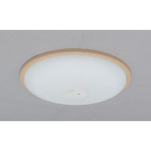 LEDシーリングライト 調光・調色 PP枠有(ブラウン) 【単品販売】5000lm調光・調色