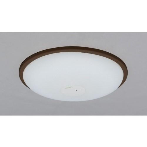 LEDシーリングライト 調光・調色 PP枠有(ダークブラウン) 【単品販売】5600lm調光・調色