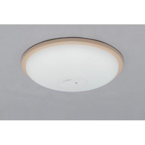LEDシーリングライト 調光 PP枠有(ブラウン) 【単品販売】3800lm調光