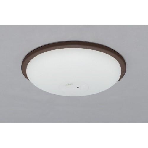 LEDシーリングライト 調光 PP枠有(ダークブラウン) 【単品販売】5000lm調光
