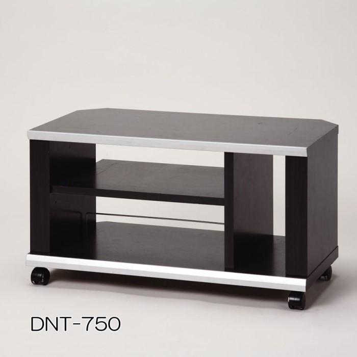 薄型コーナーTVラック 【単品販売】ブラック DNT-750