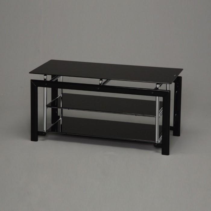 TVラック ブラック W800×D360×H390