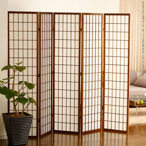 Good thing Rakuten Global Market Shoji screen 5 piece room