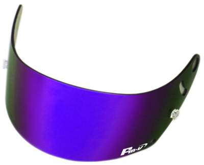 FMV 加上紫色 / 藍色煙霧盟友四頭盔 GP 1 GP-1s SK-1 為 Fm-v 盾鏡像