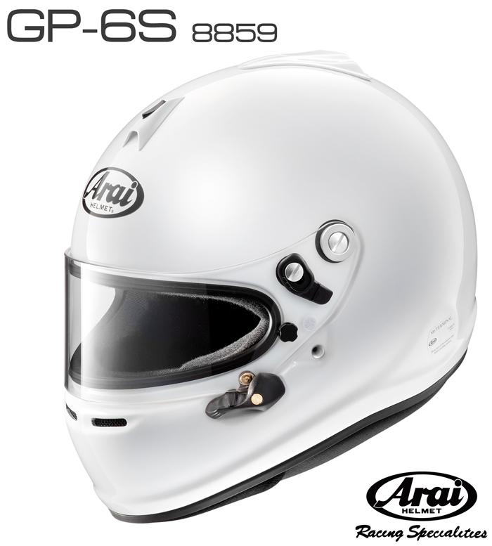 Arai アライ ヘルメット GP-6S 8859 SNELL SA/FIA8859規格 4輪公式競技対応モデル