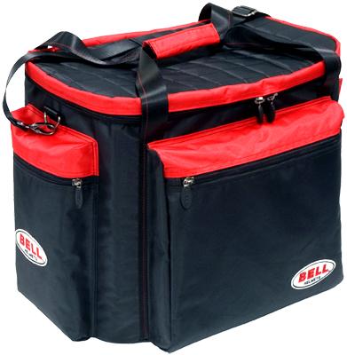 BELL RACING BAG ヘルメット & ギア バッグ ブラック×レッド (63515000)