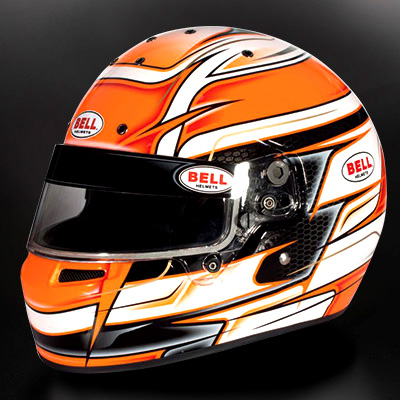 BELL RACING ヘルメット KC7 CMR VENOM オレンジ CMR2016規格 レーシングカート・走行会用 ※本国受注生産モデル納期3ヶ月前後
