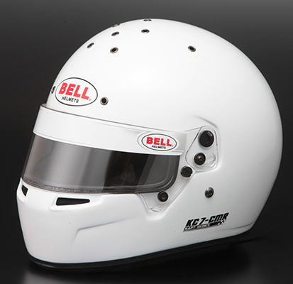 Monocolle Bell Racing Helmets Kc7 Cmr White Racing And Riding