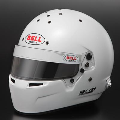BELL RACING ヘルメット RS7 PRO ホワイト SNELL2015 FIA公認8859-2015 ※一部サイズ本国受注生産サイズ